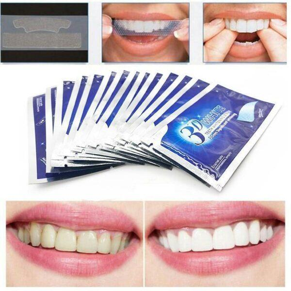 The New 3D Teeth Whitening Strips