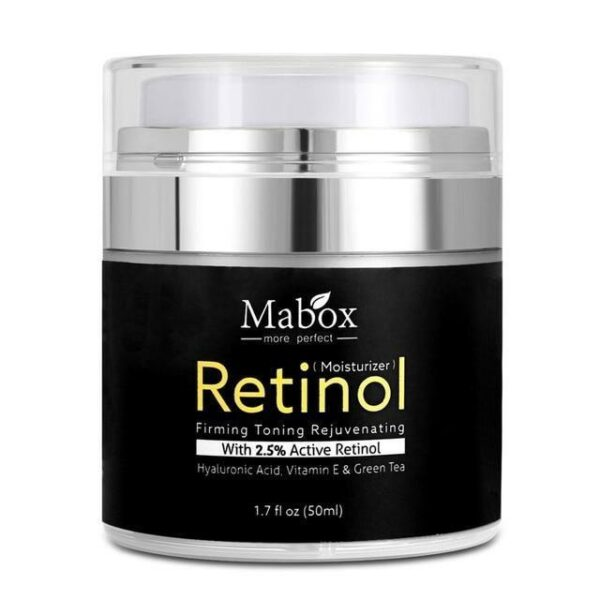 Mabox™ Retinol 2.5% Moisturizer Face Cream – Official Retailer