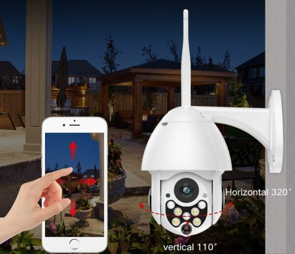WavyCam+ Official Retailer – Outdoor WiFi Camera