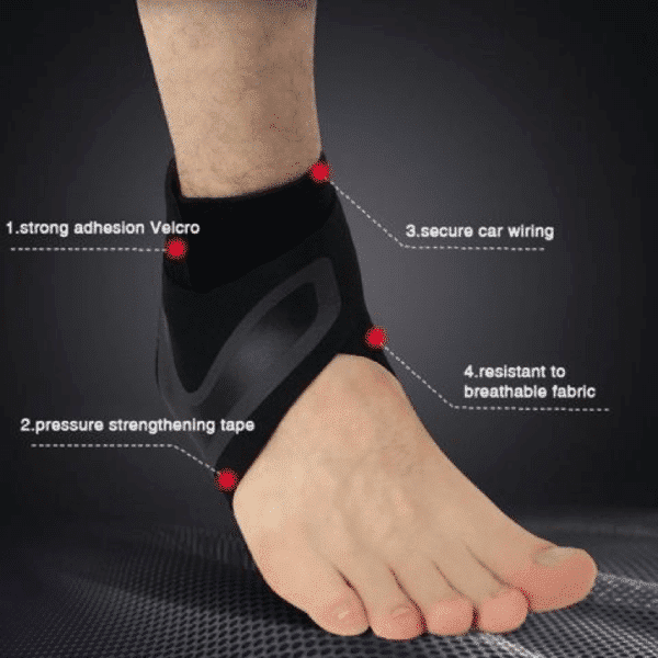 Walk-Hero™ Official Retailer – The Adjustable Elastic Ankle Brace