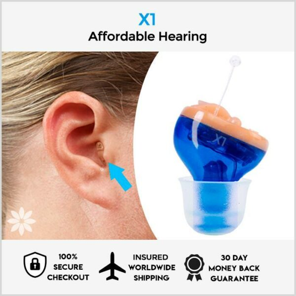 Hearglow™ Official Retailer – X1 Invisible Hearing Aid