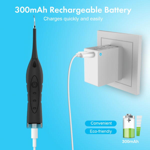 Cleanoral™ Official Retailer – 2 In 1 Electric Tooth Cleaner