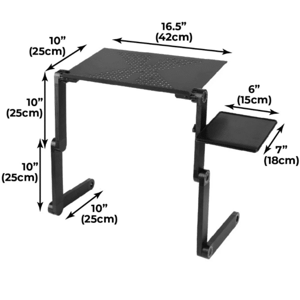 Ex Tables™ Official Retailer – Adjustable Laptop Table Stand