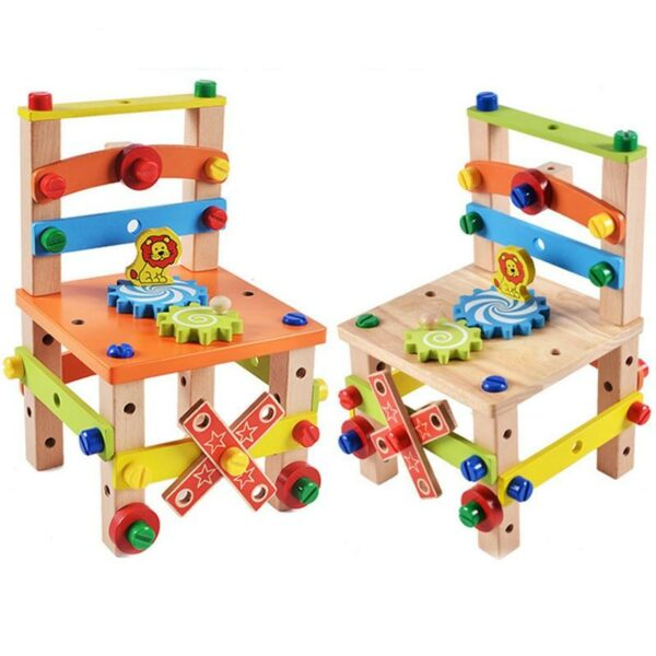 Build Your Chair: Montessori Toys – Official Retailer