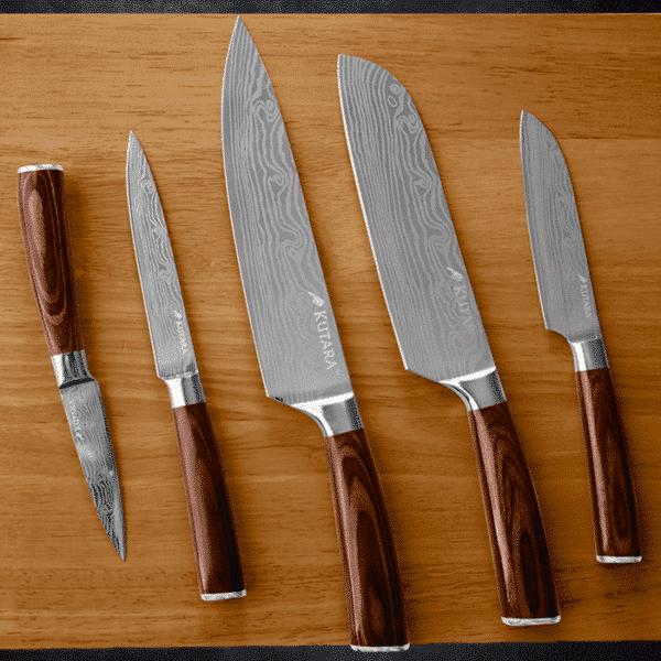 Kutara Knives™ Official Retailer – Akaishi Kido Chef Set