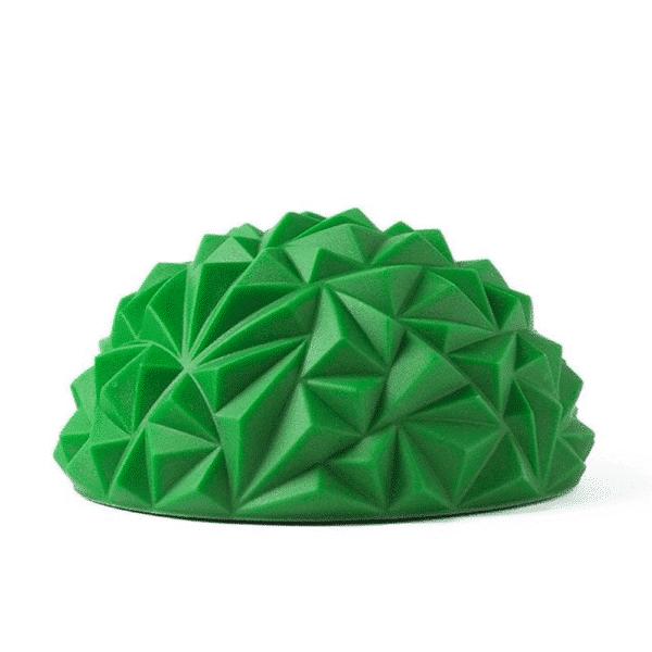 Yoga Half Ball Water Cube Diamond Pattern Foot Massage Ball