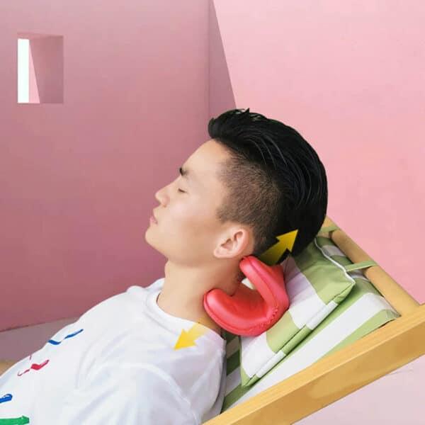 Innovative Necksaver Pro Neck Stretcher Pillow