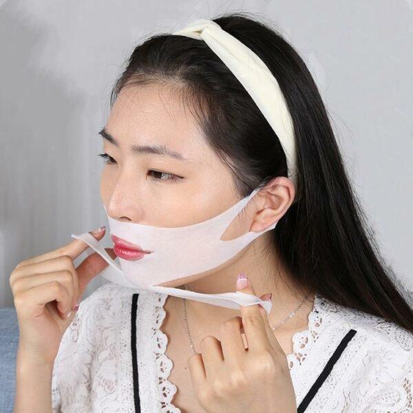 Double Chin Lifting Treatment V Line Mask 4 Sheets