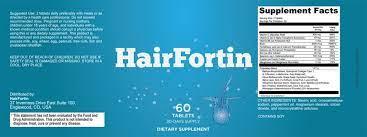hairfortin™ – #1 hair growth supplement