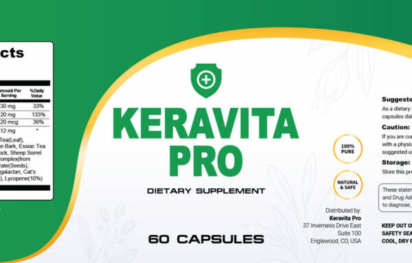 keravita pro™ – #1 natural toenail fungus aid supplement