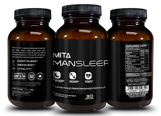 man sleep – #1 natural sleep aid for men