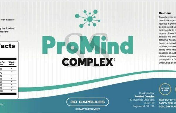 promind complex™ – #1 brain health supplement