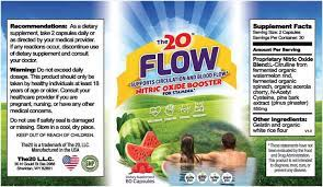 the20™ flow nitric oxide booster – #1 blood flow support